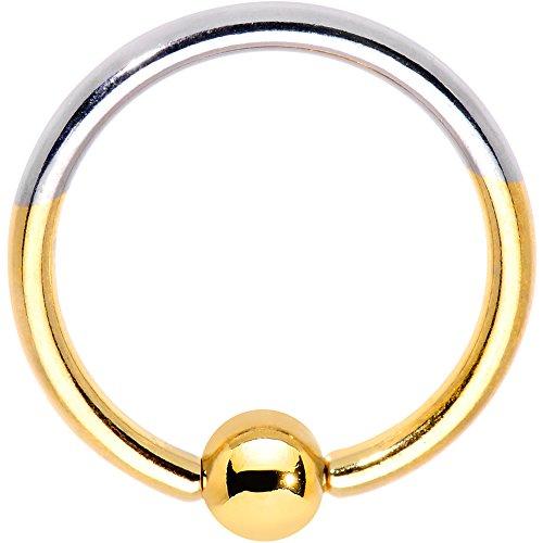 ボディキャンディー ボディピアス アメリカ 日本未発売 ウォレット 【送料無料】Body Candy 16G Anodized Titanium Steel Captive Bead Ring Two Tone Eyebrow BCR Septum Lip 10mmボディキャンディー ボディピアス アメリカ 日本未発売 ウォレット