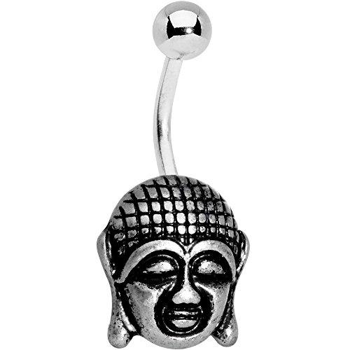 ボディキャンディー ボディピアス アメリカ 日本未発売 ウォレット 【送料無料】Body Candy Steel Ancient Buddha Belly Ring Set of 2ボディキャンディー ボディピアス アメリカ 日本未発売 ウォレット