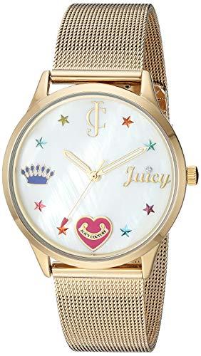 腕時計 ジューシークチュール レディース 【送料無料】Juicy Couture Black Label Women's Gold-Tone Mesh Bracelet Watch腕時計 ジューシークチュール レディース