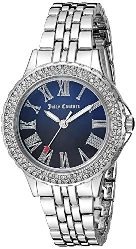 ジューシークチュール レディース Juicy Couture Black Label Women's Swarovski Crystal Accented Silver-Tone Bracelet Watchジューシークチュール レディース