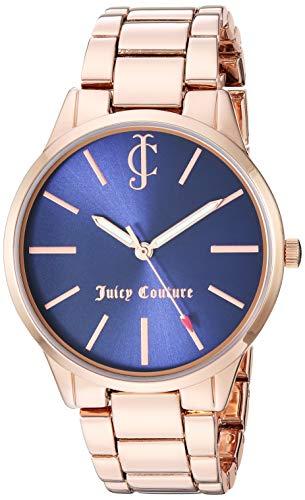 ジューシークチュール レディース 【送料無料】Juicy Couture Black Label Women's Rose Gold-Tone Bracelet Watchジューシークチュール レディース