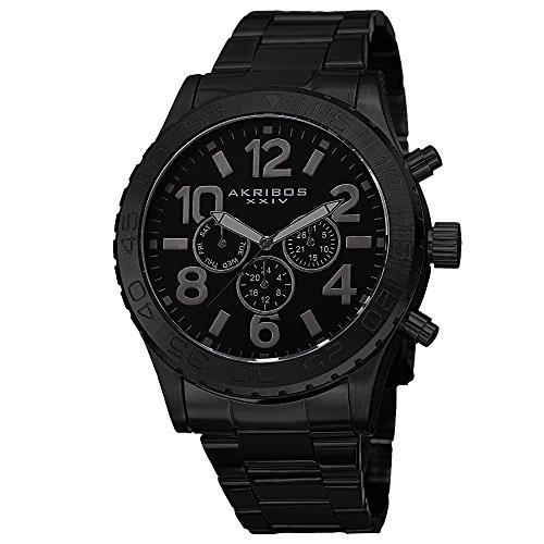 アクリボスXXIV 腕時計 メンズ 【送料無料】Akribos XXIV Men's Multifunction Watch - Swiss Quartz Movement 3 Subdials Watch - On Stainless Steel Bracelet - AK763アクリボスXXIV 腕時計 メンズ
