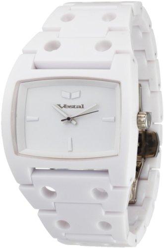 ベスタル ヴェスタル 腕時計 メンズ 【送料無料】Vestal Men's DESP020 Destroyer Plastic All White Watchベスタル ヴェスタル 腕時計 メンズ