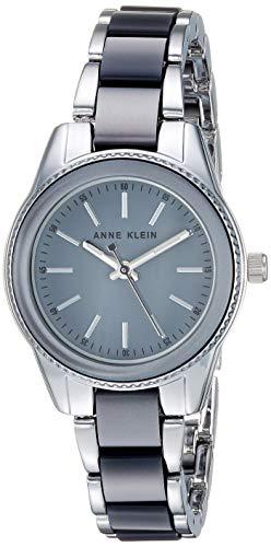 アンクライン 腕時計 レディース 【送料無料】Anne Klein Women's Silver-Tone and Grey Resin Bracelet Watchアンクライン 腕時計 レディース