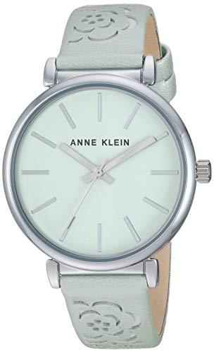 腕時計 アンクライン レディース 【送料無料】Anne Klein Women's AK/3379MINT Silver-Tone and Mint Green Strap Watch腕時計 アンクライン レディース