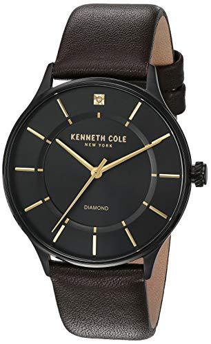 ケネスコール・ニューヨーク Kenneth Cole New York 腕時計 メンズ 【送料無料】Kenneth Cole New York Men's Stainless Steel Japanese-Quartz Leather Strap, Black Casual Watch (Model: KC50ケネスコール・ニューヨーク Kenneth Cole New York 腕時計 メンズ