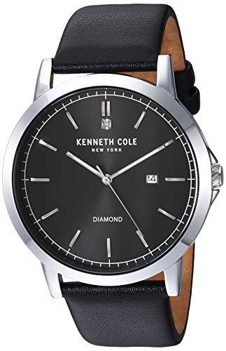 ケネスコール・ニューヨーク Kenneth Cole New York 腕時計 メンズ 【送料無料】Kenneth Cole New York Male Quartz Watch with Leather Strap, Black, 22 (Model: KC50555002)ケネスコール・ニューヨーク Kenneth Cole New York 腕時計 メンズ