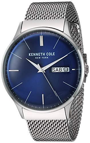 ケネスコール・ニューヨーク Kenneth Cole New York 腕時計 メンズ 【送料無料】Kenneth Cole New York Men's CLASSIC Japanese-Quartz Stainless-Steel Strap, Silver, 20.9 Casual Watch (Modeケネスコール・ニューヨーク Kenneth Cole New York 腕時計 メンズ