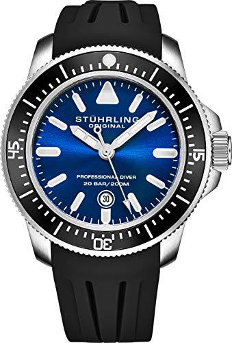 ストゥーリングオリジナル 腕時計 メンズ 【送料無料】Stuhrling Original Mens Dive Watches - Pro Sport Watch Diver with Screw Down Crown and Water Resistant to 200M. - Analog Dial, Quartz Movement - Maritimerストゥーリングオリジナル 腕時計 メンズ