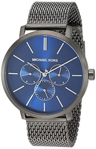 マイケルコース 腕時計 メンズ マイケル・コース アメリカ直輸入 【送料無料】Michael Kors Men's Blake Stainless Steel Quartz Watch with Nylon Strap, Multi, 20 (Model: MK8713)マイケルコース 腕時計 メンズ マイケル・コース アメリカ直輸入