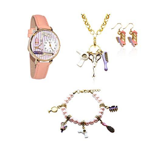気まぐれな腕時計 かわいい プレゼント クリスマス ユニセックス 【送料無料】Whimsical Gifts Profession Jewelry Sets (Beautician, Gold)気まぐれな腕時計 かわいい プレゼント クリスマス ユニセックス