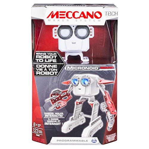 メカノ 知育玩具 パズル ブロック Meccano - Micronoid - Red Socketメカノ 知育玩具 パズル ブロック