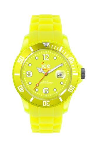 アイスウォッチ 腕時計 レディース かわいい 【送料無料】Ice-Watch Flashy Yellow Dial Silicone Strap Unisex Watch SS.NYW.S.S.12アイスウォッチ 腕時計 レディース かわいい