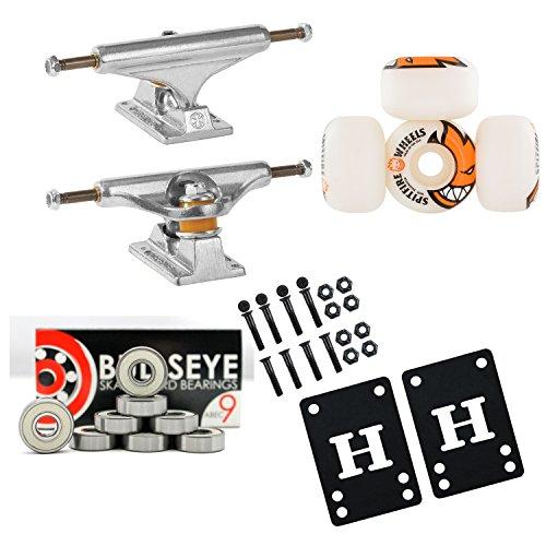 ベアリング スケボー スケートボード 海外モデル 直輸入 DECK INDEPENDENT 129mm Skateboard TRUCKS 50mm SPITFIRE Wheels, Bearings PACKAGEベアリング スケボー スケートボード 海外モデル 直輸入 DECK