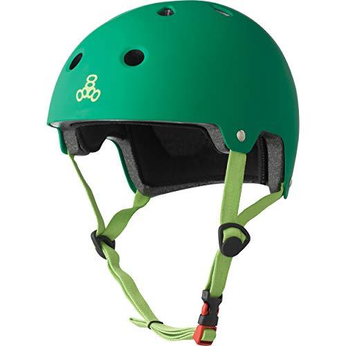 ヘルメット スケボー スケートボード 海外モデル 直輸入 3026 【送料無料】Triple Eight Dual Certified Bike and Skateboard Helmet, Kelly Green Matte, X-Small / Smallヘルメット スケボー スケートボード 海外モデル 直輸入 3026