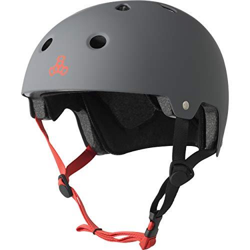 ヘルメット スケボー スケートボード 海外モデル 直輸入 3013 Triple Eight 3013 Dual Certified Helmet, Large/X-Large, Gun Rubberヘルメット スケボー スケートボード 海外モデル 直輸入 3013