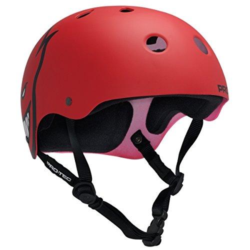 ヘルメット スケボー スケートボード 海外モデル 直輸入 120902006 【送料無料】PROTEC Original Classic Skate Helmet, Spitfire Red, X-Largeヘルメット スケボー スケートボード 海外モデル 直輸入 120902006