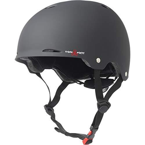 ヘルメット スケボー スケートボード 海外モデル 直輸入 3303 Triple Eight Gotham Dual Certified Skateboard and Bike Helmet, Black Matte, Large / X-Largeヘルメット スケボー スケートボード 海外モデル 直輸入 3303