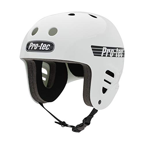 ヘルメット スケボー スケートボード 海外モデル 直輸入 117700202 Pro-Tec Full Cut Skate, Gloss White, XSヘルメット スケボー スケートボード 海外モデル 直輸入 117700202