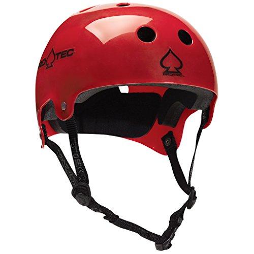 ヘルメット スケボー スケートボード 海外モデル 直輸入 116802703 PROTEC Original Bucky Skate Helmet, Translucent Red, Smallヘルメット スケボー スケートボード 海外モデル 直輸入 116802703