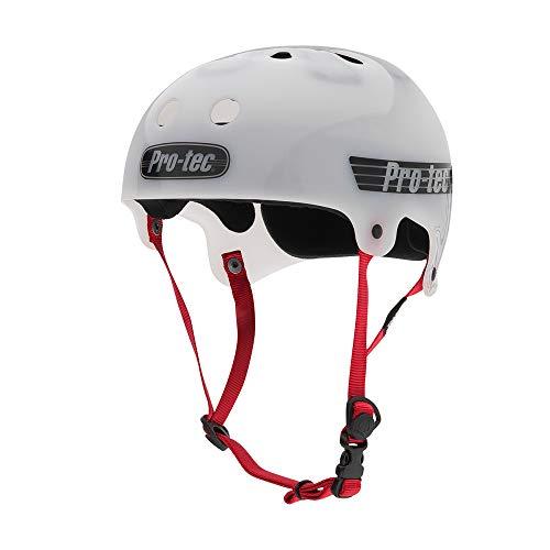 ヘルメット スケボー スケートボード 海外モデル 直輸入 116904204 Pro-Tec The Bucky, Translucent White, Mヘルメット スケボー スケートボード 海外モデル 直輸入 116904204