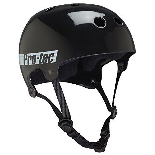 ヘルメット スケボー スケートボード 海外モデル 直輸入 116718005 PROTEC Original Bucky Skate Helmet, Gloss Black Retro, Largeヘルメット スケボー スケートボード 海外モデル 直輸入 116718005