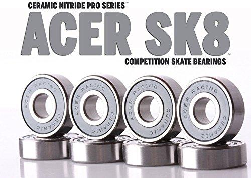 ベアリング スケボー スケートボード 海外モデル 直輸入 Ceramic Skate Bearingsベアリング スケボー スケートボード 海外モデル 直輸入