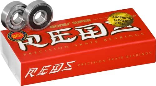 ベアリング スケボー スケートボード 海外モデル 直輸入 BRACSR816 【送料無料】Bones Super Reds Bearings 8mm 16 Packベアリング スケボー スケートボード 海外モデル 直輸入 BRACSR816