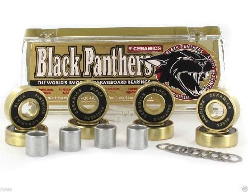 ベアリング スケボー スケートボード 海外モデル 直輸入 DECK Black Panthers Ceramics Speed Smooth Skateboard Bearingsベアリング スケボー スケートボード 海外モデル 直輸入 DECK