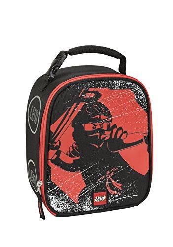 レゴ ニンジャゴー LEGO Kids Ninjago Red Ninja Lunch Backpack, Black, One Sizeレゴ ニンジャゴー