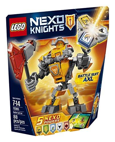 レゴ ネックスナイツ 【送料無料】LEGO Nexo Knights Battle Suit Axl 70365 Building Kit (88 Piece)レゴ ネックスナイツ