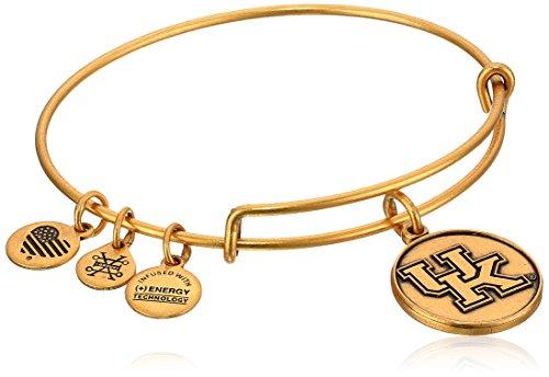 アレックスアンドアニ アメリカ アクセサリー ブランド かわいい Alex and Ani University of Kentucky Rafaelian Gold Bangle Braceletアレックスアンドアニ アメリカ アクセサリー ブランド かわいい