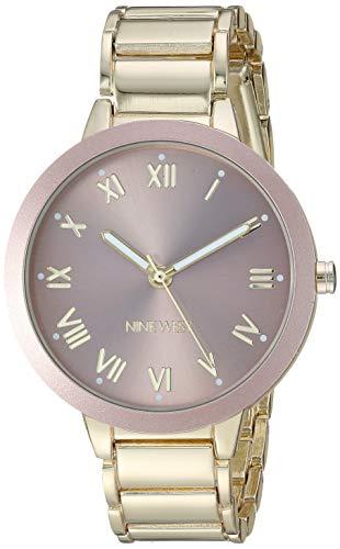 ナインウェスト 腕時計 レディース 【送料無料】Nine West Women's NW/2248TPGP Gold-Tone Bracelet Watchナインウェスト 腕時計 レディース