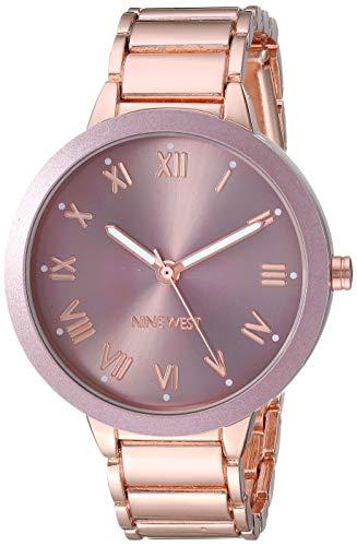 ナインウェスト 腕時計 レディース 【送料無料】Nine West Women's NW/2248MVRG Rose Gold-tone Bracelet Watchナインウェスト 腕時計 レディース