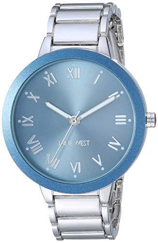 ナインウェスト 腕時計 レディース 【送料無料】Nine West Women's NW/2249LBSV Silver-Tone Bracelet Watchナインウェスト 腕時計 レディース