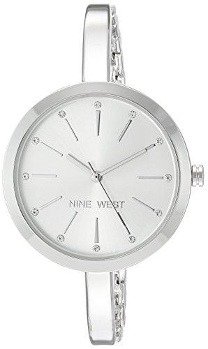 ナインウェスト 腕時計 レディース 【送料無料】Nine West Women's Quartz Metal and Alloy Dress Watch, Color:Silver-Tonedナインウェスト 腕時計 レディース