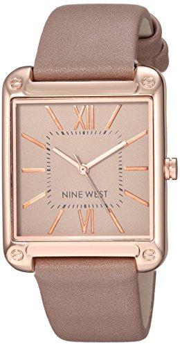 ナインウェスト 腕時計 レディース 【送料無料】Nine West Women's NW/2116TPRG Rose Gold-Tone and Taupe Strap Watchナインウェスト 腕時計 レディース