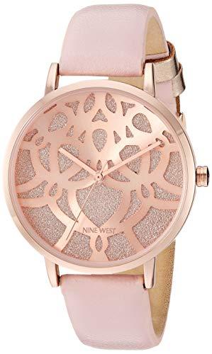 ナインウェスト 腕時計 レディース 【送料無料】Nine West Women's NW/2198RGPK Rose Gold-Tone and Pink Strap Watchナインウェスト 腕時計 レディース