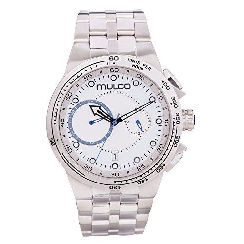 マルコ 腕時計 メンズ 【送料無料】Mulco Lyon Men's Watch- All Stainless Steel- Water Resistant- MW3-16106-011マルコ 腕時計 メンズ