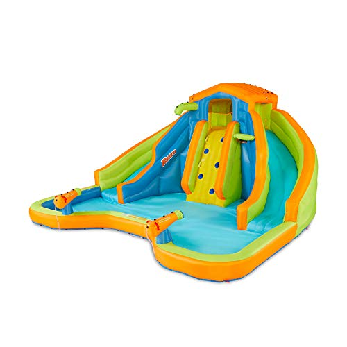 プール ビニールプール ファミリープール オーバルプール 家庭用プール 【送料無料】BANZAI 90369 Adventure Club Water Park Inflatable 2 Lane Water Slide Splash Poolプール ビニールプール ファミリープール オーバルプール 家庭用プール