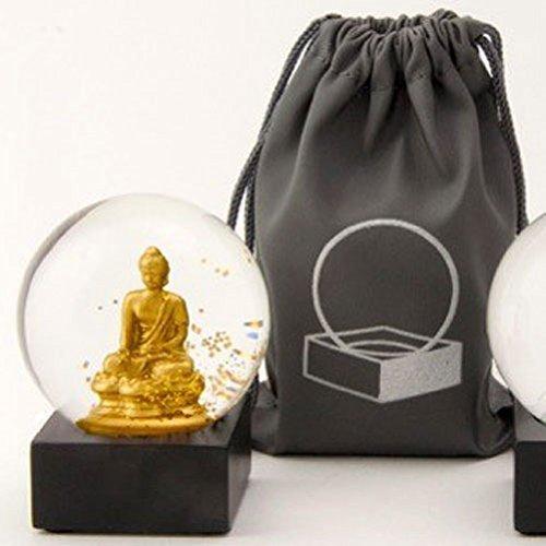 スノーグローブ 雪 置物 インテリア 海外モデル CoolSnowGlobes Buddha to Go Miniature Cool Snow Globe Gold Buddhaスノーグローブ 雪 置物 インテリア 海外モデル