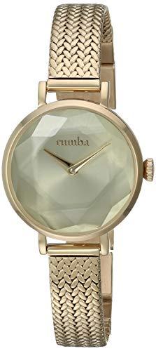 ルンバタイム 腕時計 レディース 【送料無料】RumbaTime Women's Hudson Gem Weave Japanese-Quartz Stainless-Steel Strap, Gold, 10 Casual Watch (Model: 27501)ルンバタイム 腕時計 レディース