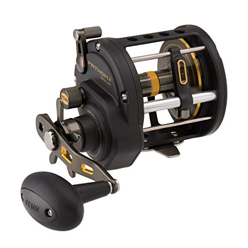 リール ペン Penn 釣り道具 フィッシング 【送料無料】Penn, Fathom II Level Wind Saltwater Casting Reel, 50, 3.7:1 Gear Ratio, 30