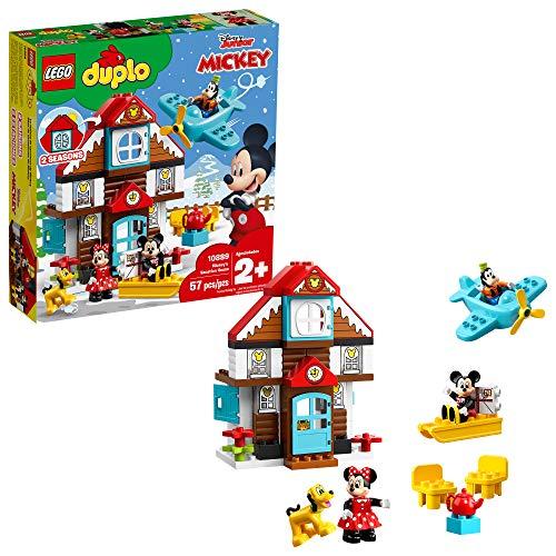 レゴ デュプロ 【送料無料】LEGO DUPLO Disney Mickey's Vacation House 10889 Toy House Building Set for Toddlers with Minnie Mouse, Goofy, Pluto and Mickey Mouse Figures (57 Pieces)レゴ デュプロ