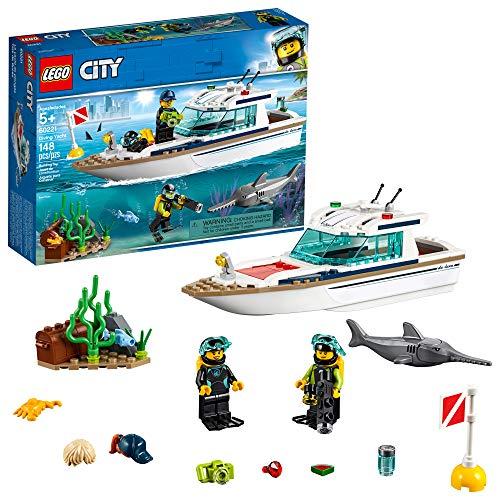 レゴ シティ LEGO City Great Vehicles Diving Yacht 60221 Building Kit, 2019 (148 Pieces)レゴ シティ