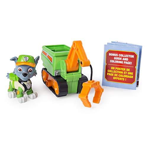 パウパトロール アメリカ直輸入 英語 バイリンガル育児 おもちゃ PAW Patrol Ultimate Rescue Rocky's Mini Crane Cart with Collectible Figure, Ages 3 and Upパウパトロール アメリカ直輸入 英語 バイリンガル育児 おもちゃ
