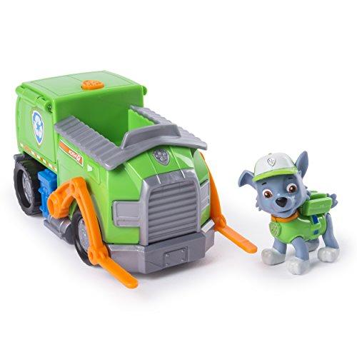 パウパトロール アメリカ直輸入 英語 バイリンガル育児 おもちゃ Paw Patrol Rocky's Transforming Recycle Truck with Pop-out Tools and Moving Forklift, for Ages 3 and Upパウパトロール アメリカ直輸入 英語 バイリンガル育児 おもちゃ