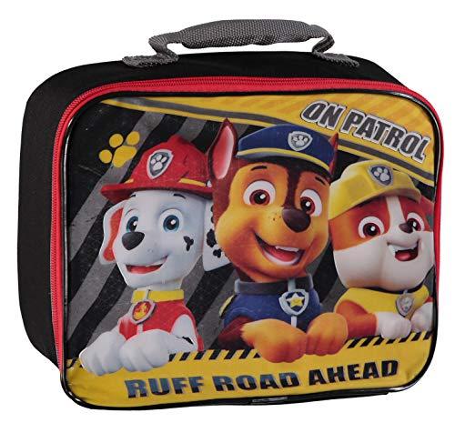 パウパトロール アメリカ直輸入 英語 バイリンガル育児 おもちゃ Nickelodeon Boys Paw Patrol Marshall Lunchbag (Black/Yellow)パウパトロール アメリカ直輸入 英語 バイリンガル育児 おもちゃ