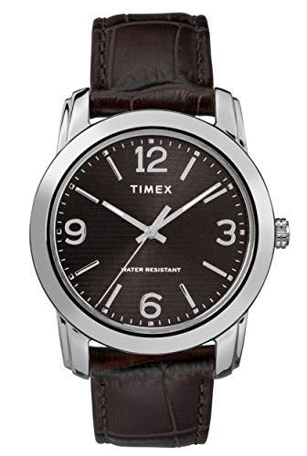 タイメックス 腕時計 メンズ 【送料無料】Timex Mens Analogue Classic Quartz Watch with Leather Strap TW2R86700タイメックス 腕時計 メンズ