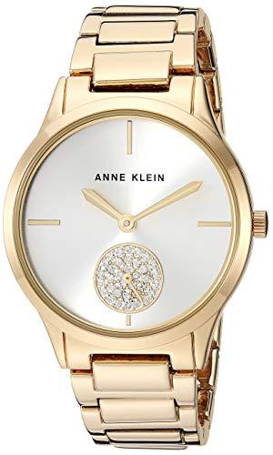 アンクライン 腕時計 レディース 【送料無料】Anne Klein Dress Watch (Model: AK/3416SVGB)アンクライン 腕時計 レディース
